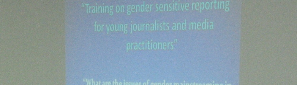 Gender sensitive reporting